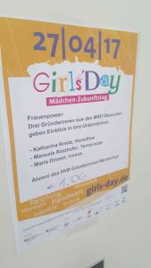 Girlsday 2017 Vectoflow poster